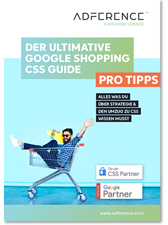 Der Ultimative Google Shopping CSS Guide - Cover