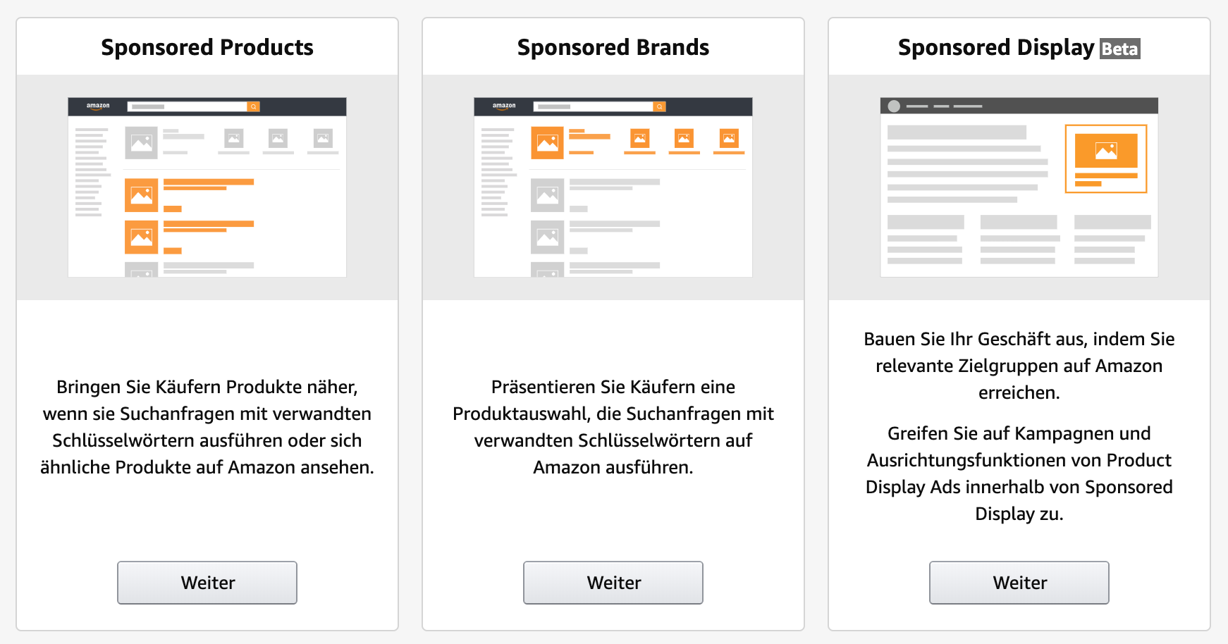 Amazon PPC Ad Types_Sponsored Products_Sponsored Brands_Sponsored Display 01-2020