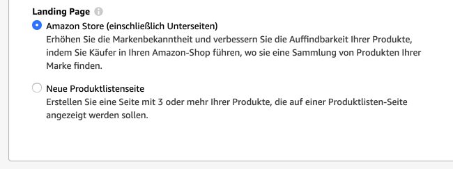 Amazon Sponsored Brands Guide_Anzeige erstellen_Landingpage 1300 × 486