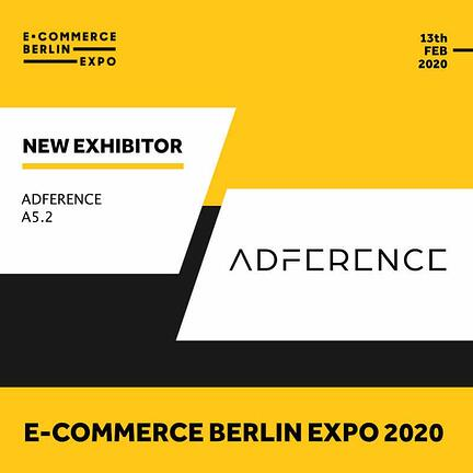 Ecommerce Berlin Expo - Adference exhibitor banner