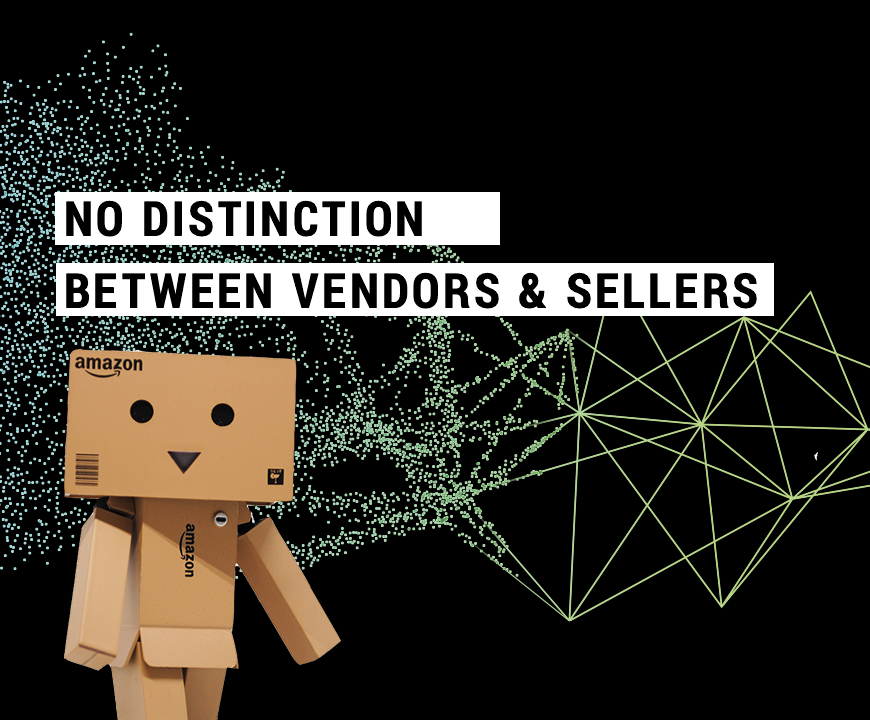 No Distinction Between Amazon Vendors and Sellers