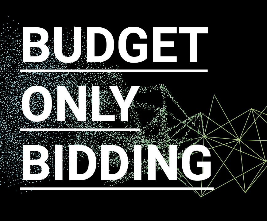 New Bidding Strategies: Budget-Only – No Optimization Targets Needed